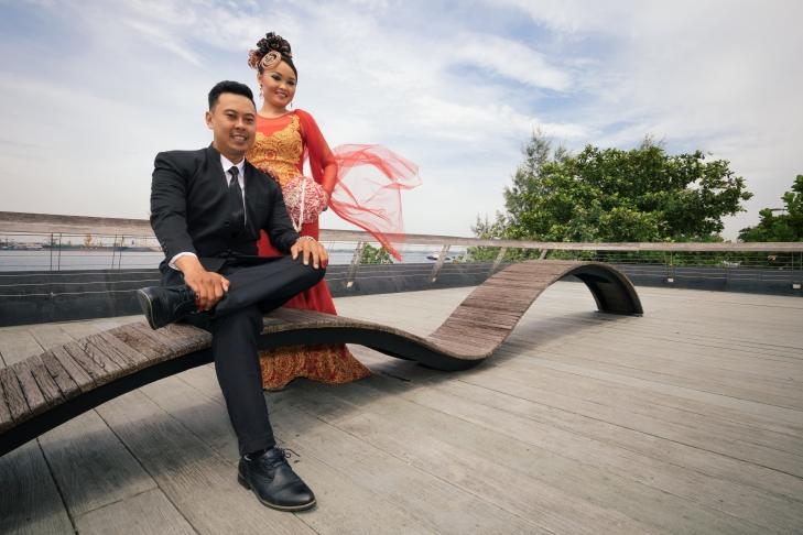 Yana & Azahar's Post Wedding shoot